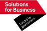 Solutions for business logo